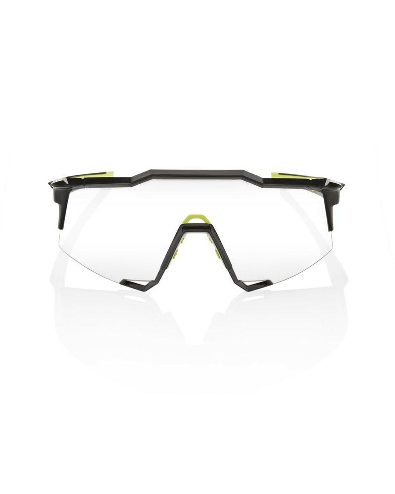 100 Percent Speedcraft - Gloss Black - Photochromic Lens