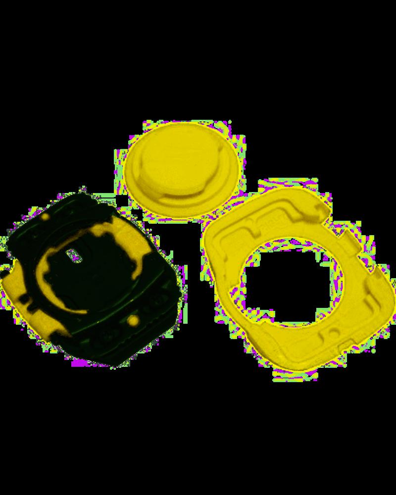 Speedplay ZERO STAINLESS w/ Walkable Cleats, Black