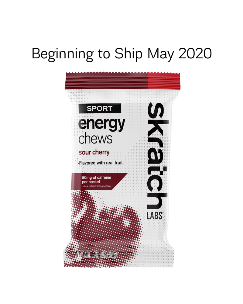 Skratch Labs Sport Energy Chews, 50g, 10-Pack