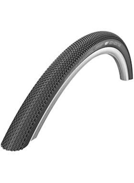 Schwalbe Schwalbe, G-One Allround, Tire, 700x38C, Folding, Clincher, Dual, RaceGuard, 67, Black