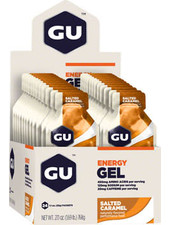 GU Energy Labs GU Energy Gel Salted Caramel 24-Pack