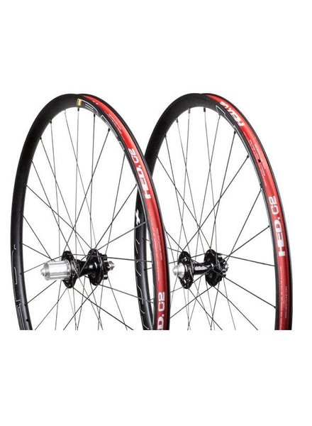 HED Cycling HED BELGIUM PLUS DISC R45D 28/28- Matte Mango