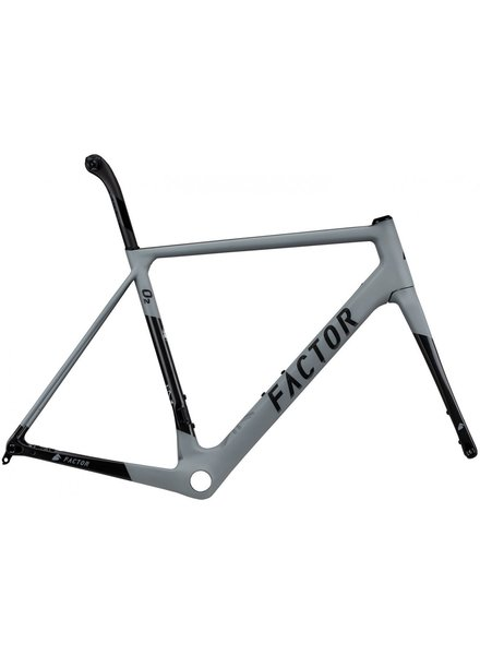 Factor O2 Disc Frameset Dolphin Gray 49 DEMO