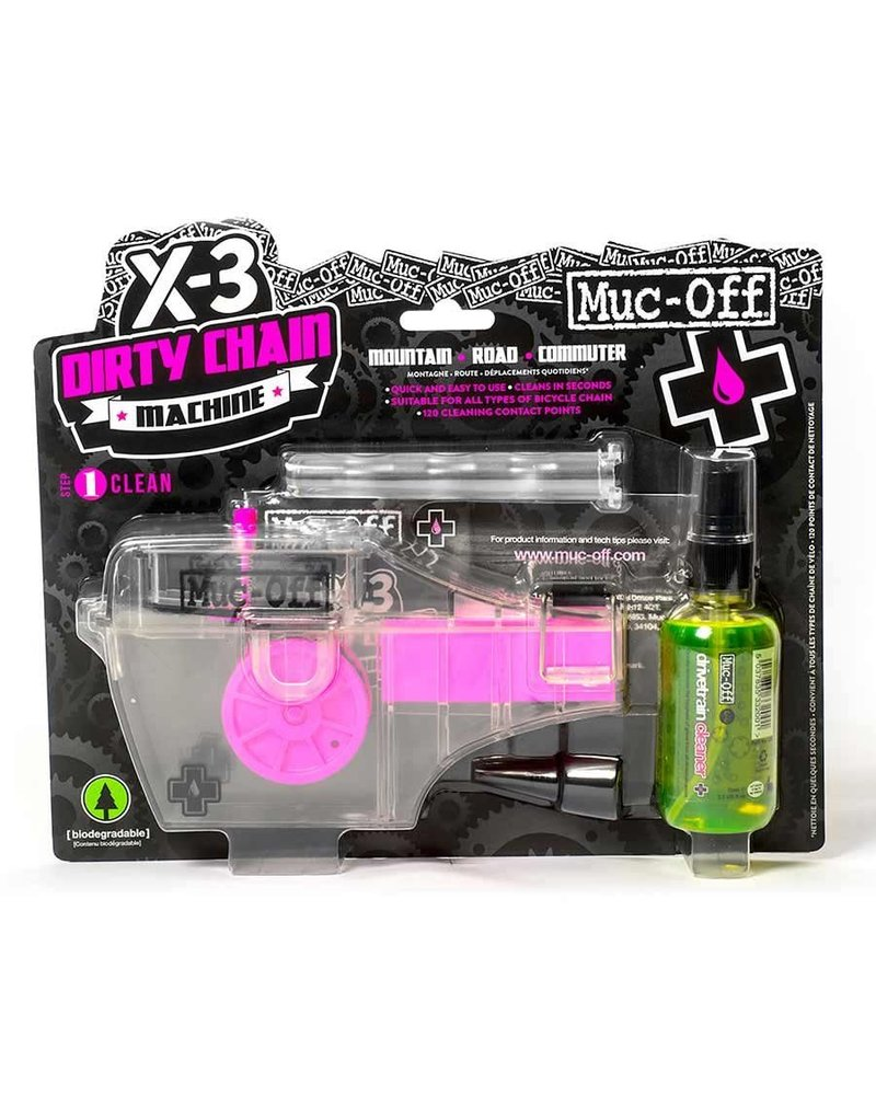 Muc-Off X3, Chain Cleaning Kit