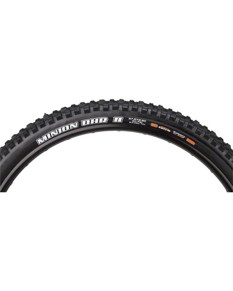 Maxxis Minion DHR II Tire - 27.5 x 2.3, Tubeless, Folding, Black, 3C Maxx Terra, DD