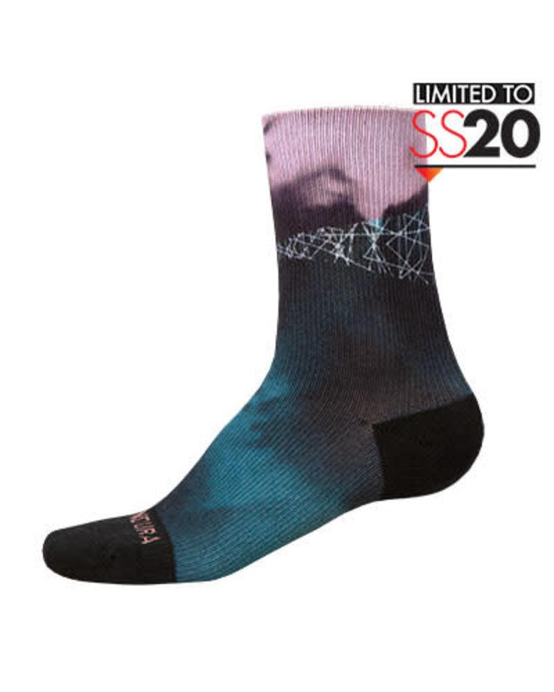 Endura Women's Cloud Sock LTD: Blue - One size