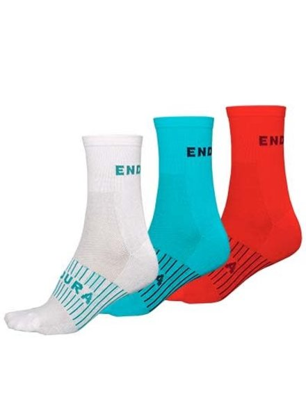 Endura Women's Coolmax Race Sock (Triple Pack) - One size