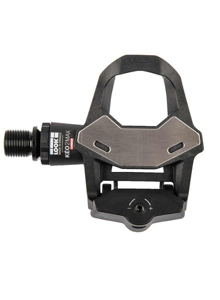 Look Keo 2 Max Carbon Pedals, Cr-Mo Axle, Black