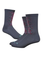 "Defeet Barnstormer 6"" Splatter-Graphite w/Multi Colors"