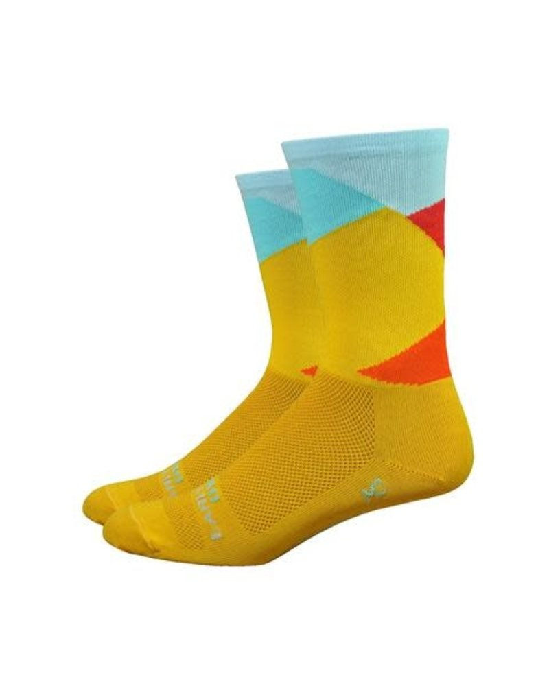 """Defeet Ornot 6"""" Intersection - Bright Gold"""