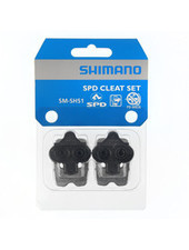 Shimano SM-SH51 CLEAT ASSEMBLY,PAIR WITH CLEAT NUTS,SINGLE RELEASE