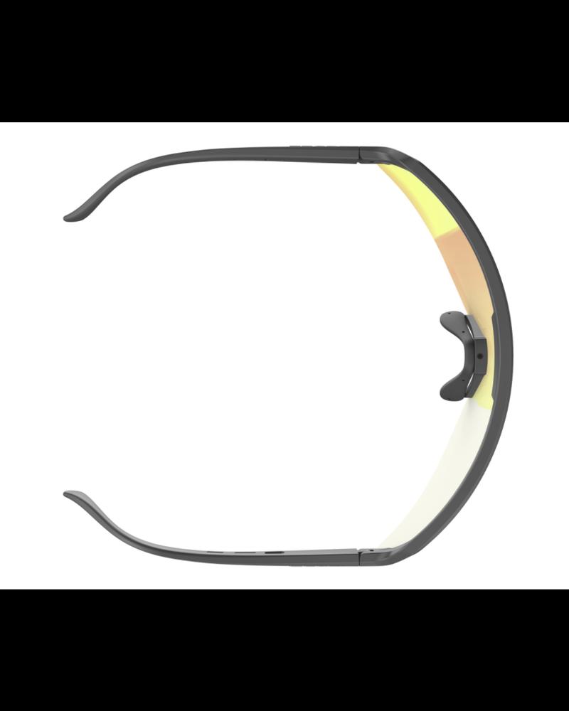 Scott Sport Shield Sunglasses- Black/Red Chrome