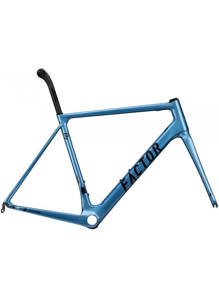 Factor O2 Disc Frameset Celestial Blue 56cm - DEMO