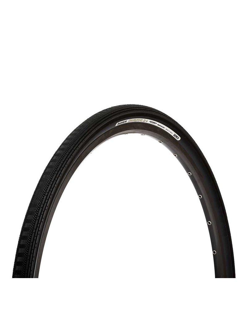 Panaracer Gravelking SS+, Tire, 700x35C, Folding, Tubeless Ready -  Black
