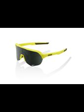 100 Percent S2 - Soft Tact Banana - Grey Green Lens