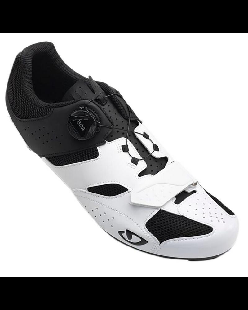 Giro Cycling Giro Savix Road Shoes - White/Black - Size 45