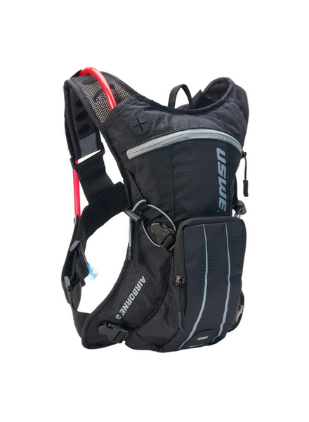 USWE Airborne 3 Hydration Pack - Black/Gray