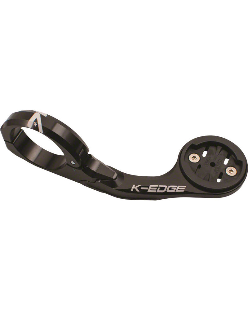 K-Edge Pro Garmin XL Handlebar Mount: 31.8mm, Black