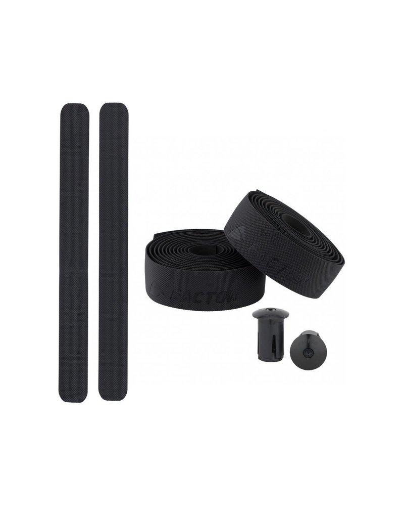 Factor Factor Bar Tape Black Textured