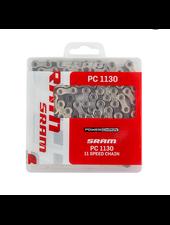 SRAM SRAM PC-1130 Chain - 11-Speed, 120 Links, Silver/Gray