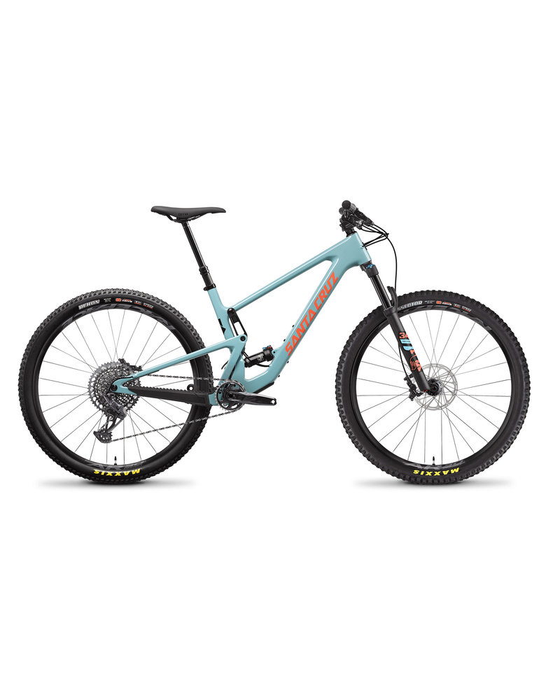 Santa Cruz Bicycles Tallboy C - S Kit - Large - Gloss Aqua