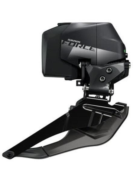 SRAM Force eTap AXS Front Derailleur - Braze-on, Gloss Black, D1