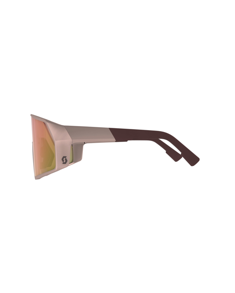 Scott Pro Shield Sunglasses - Crystal Pink/Pink Chrome