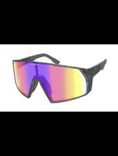 Scott Pro Shield Sunglasses - Marble Black/Teal Chrome Enhancer
