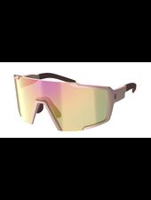 Scott Shield Compact Sunglasses - Crystal Pink/Pink Chrome