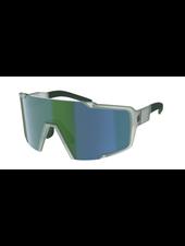 Scott Shield Compact Sunglasses - Mineral Blue/Green Chrome