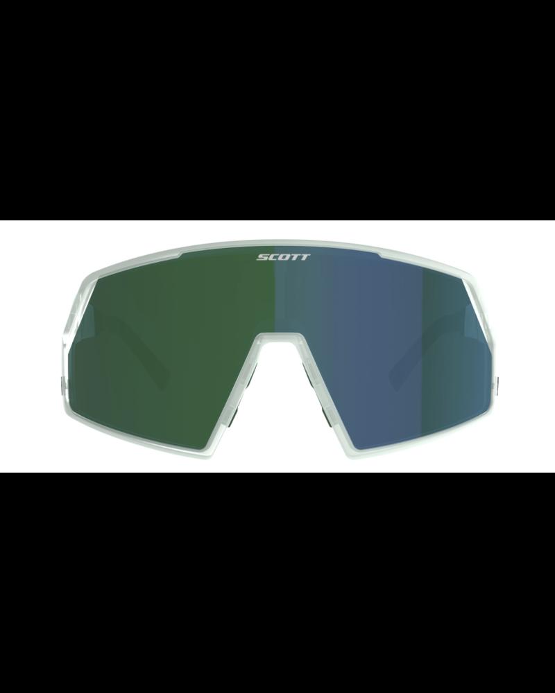 Scott Pro Shield Sunglasses - Mineral Blue/ Green Chrome