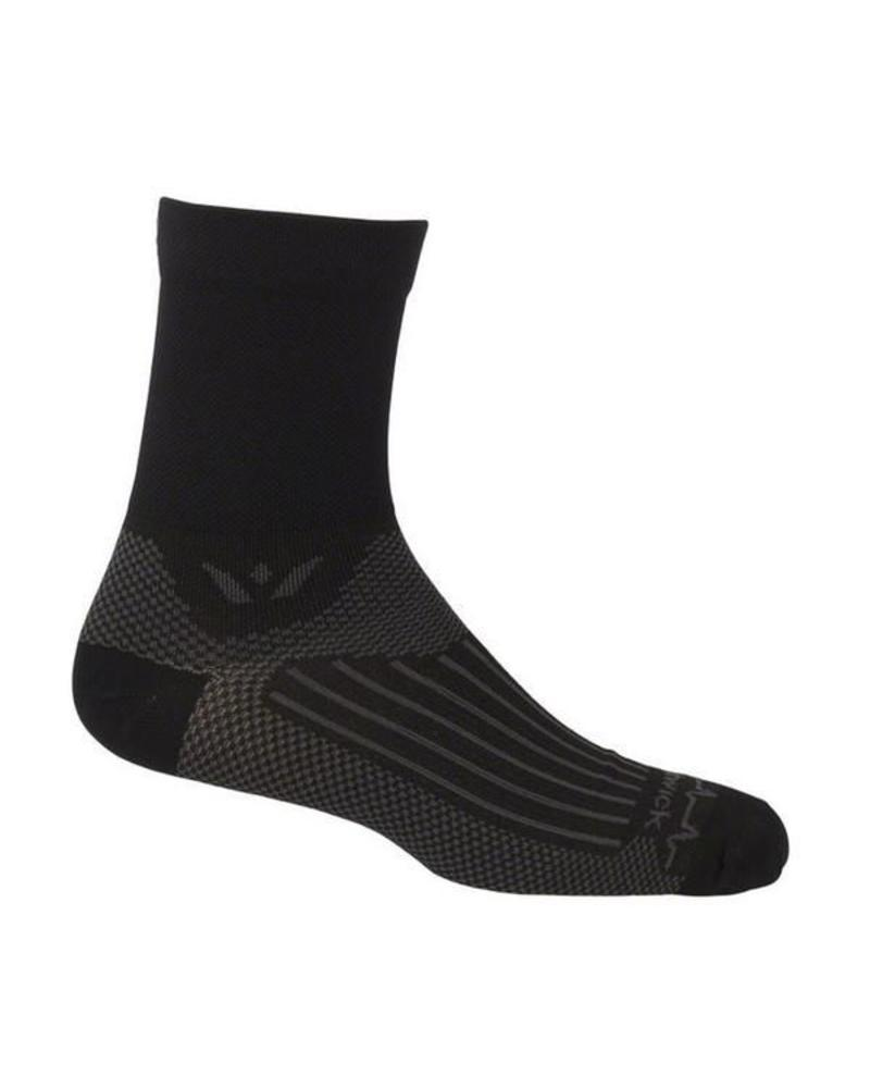 Swiftwick Swiftwick Socks FOUR PULSE BLK/GRY S