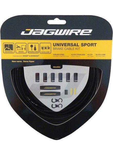 Universal Sport Brake Cable Kit, Black