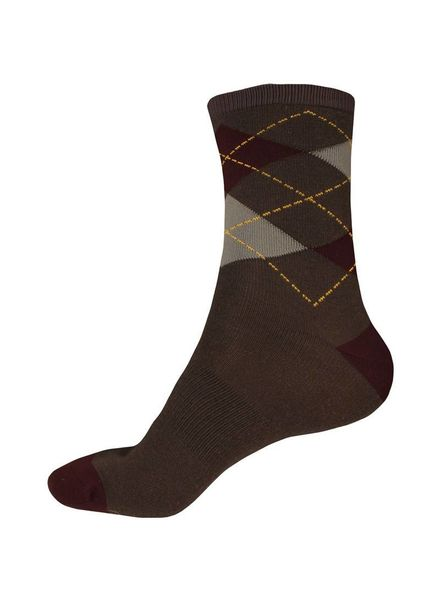 Endura Argyll 2-Pack Socks, Bur : S-M