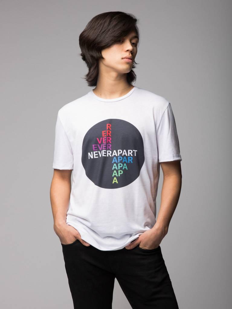 Tshirt Arc-en-ciel Never Apart