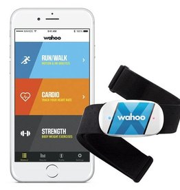 Wahoo TICKR Bluetooth and Ant+ Heart Rate Strap, Black
