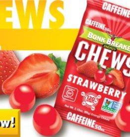 Bonk Breaker Chews, Strawberry With Caffeine