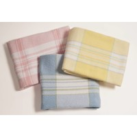 Plaid Pattern Baby Blankets