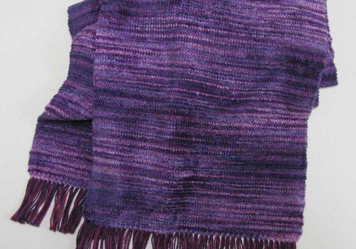 Violet Boutique Cotton/Chenille Scarf (2 lbs)