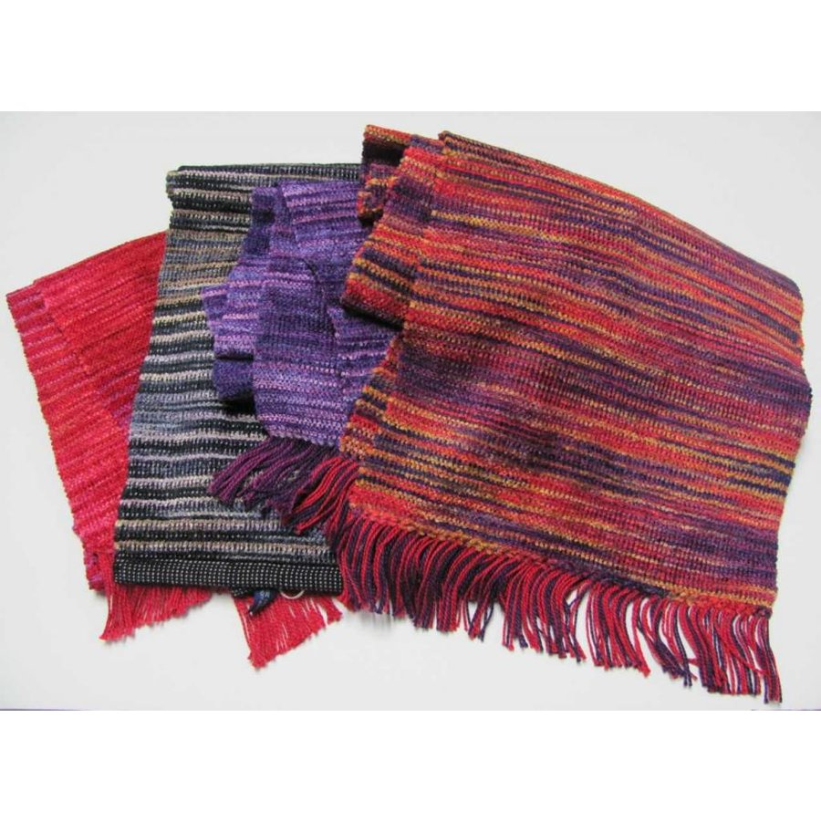 Berry Basket Cotton/Chenille Scarf (2 lbs)