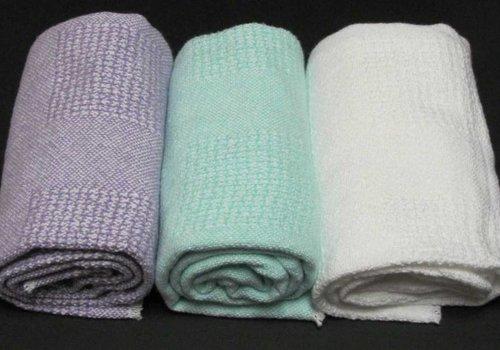 Block Pattern Baby Blanket Violet (2 lbs)