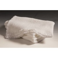 Block Pattern Baby Blankets White (2 lbs)