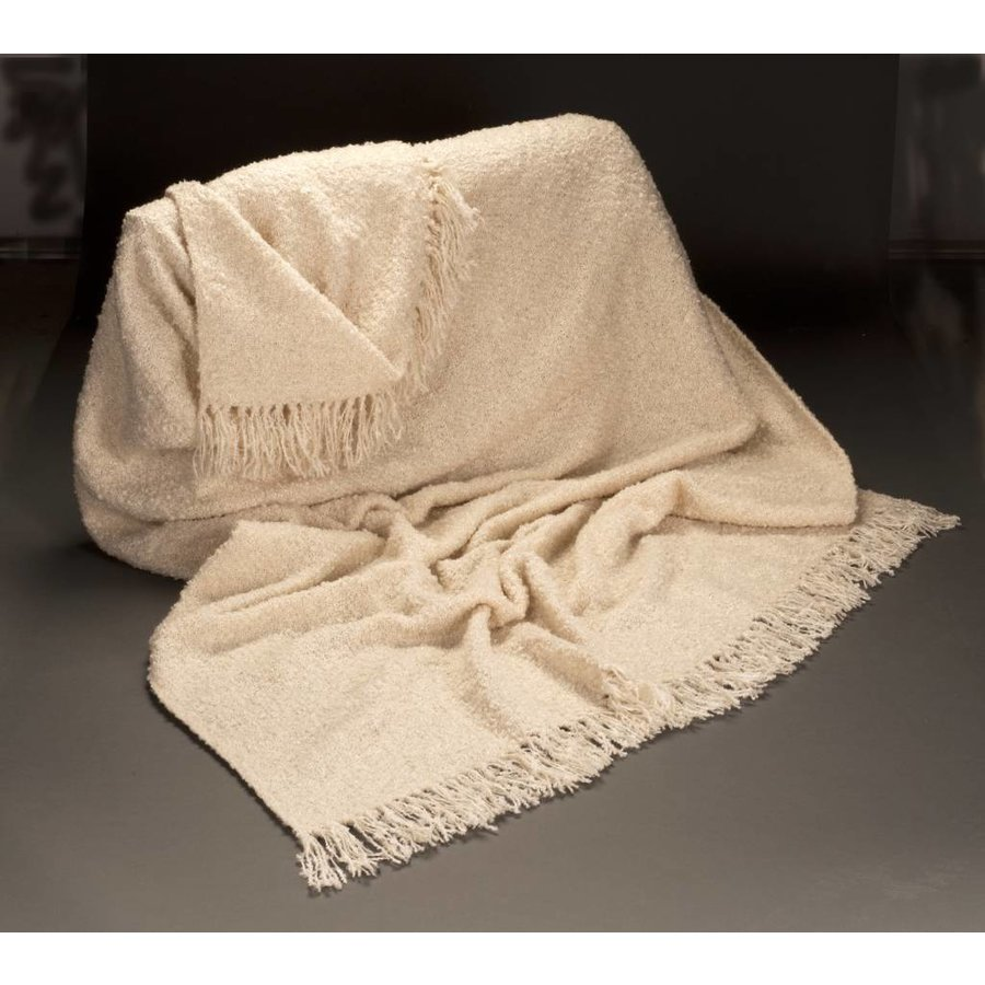 Cottage Throw Natural (3 lbs)