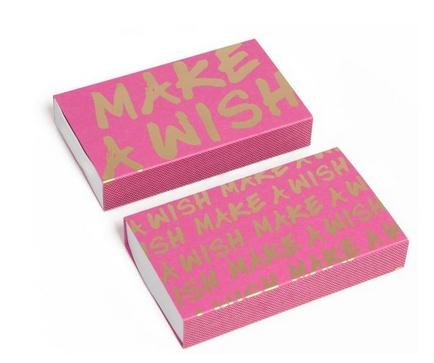 Make A Wish Matchbox
