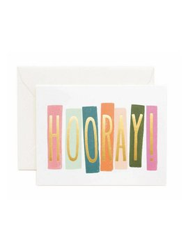 Rifle Paper Co : Hooray Card