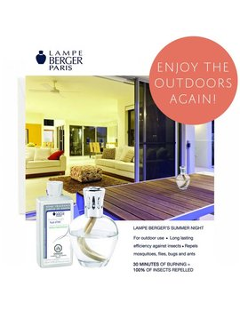 Lampe Berger Summer Night Value Kit Set