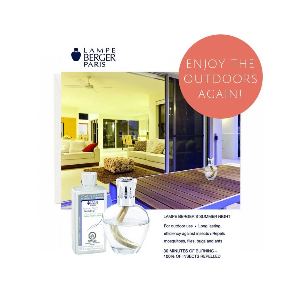 Lampe Berger Summer Night Value Kit Set