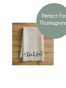 Napkin : Thankful