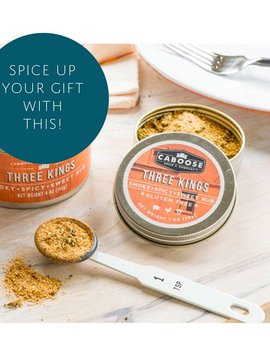 Three Kings Smoky Spicy & Sweet Dry Rub ( single 1 oz tin )