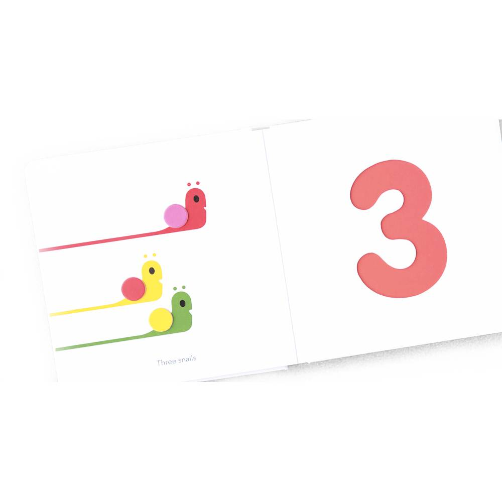 Touch Think Learn: Numbers Board Book